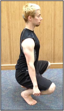 Hindu squats, bottom.