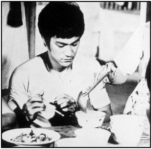 The Bruce Lee diet involves eating a variety of healthy, real foods.