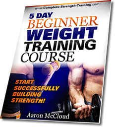 5 Day Beginner Weight Training Course!