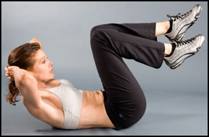 6 Best Ab Exercises- These crunches work all your abdominal muscles at once.
