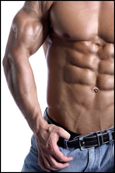 Getting 8 pack abs is difficult, but it looks amazing when you get there!