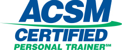Aaron McCloud, ACSM Certified Personal Trainer.