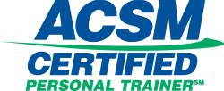 Aaron McCloud, ACSM Certified Personal Trainer.