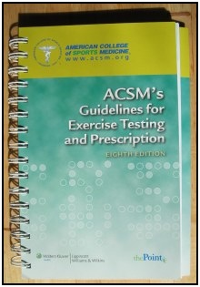 ACSMs Guidelines for Exercise Testing and Prescription.