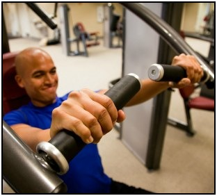 The chest press is an essential lift in the Body By Science Workout.
