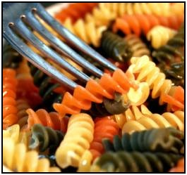 Pasta is a great food for carb loading!