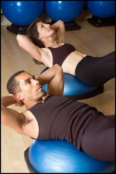 Here's one of the best ways of doing core muscle exercise.