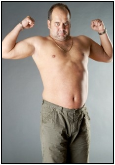 An endomorph is big boned and puts on fat easily.