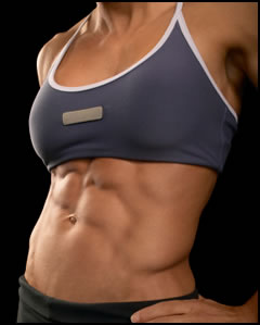 Female six pack abs: how to get them!