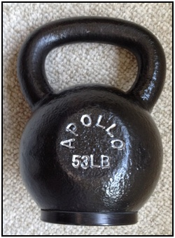 I love kettlebells, as forearm exercise equipment and for regular exercise. Enough said.