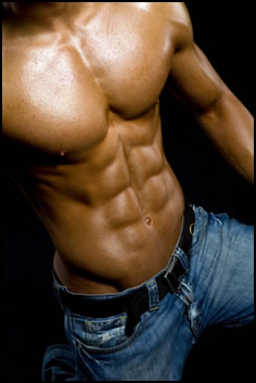 Running and cardio will get a six pack fast!