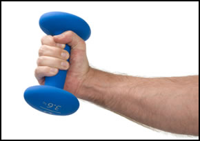 Grip strengthening exercises, like these wrist curls, build dynamic wrist strength.