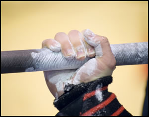 Use hand grip exercise to work out your fingers, wrists, and entire forearm!