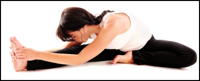 Contracting your feet against your hands is an example of using isometric stretching on your calf.