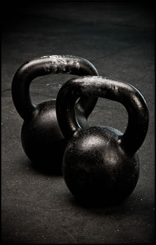 Use kettlebell workouts to get strong and keep going well into that championship game!