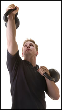 Kettlebells exercises can build tons of strength, just do them correctly.