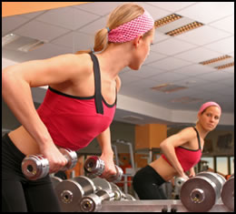 Lifting weights to lose weight can work wonders.
