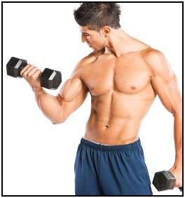 An Mesomorph puts on muscle easily and has a medium level of body fat.