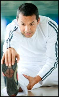 Your own physiology of flexibility depends heavily on how active you are and how much you stretch - at any age!