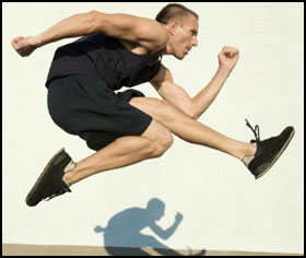 This plyometric workout will build explosive power in your upper and lower body.