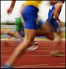 Plyometrics for speed can help you do better in a variety of sports, especially these sprinters.