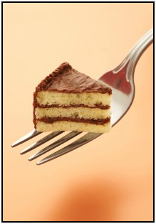 Use these portion control tips to eat less of whatever you're munching on and lose weight - even if you're eating cake!