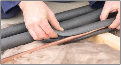 Pipe insulation is a cheap way to get a bigger pull up bar and develop hand strength.