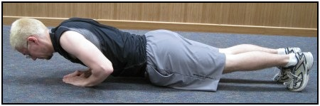 Tricep push-ups, photo 3.