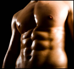 Get ripped abs like these with this six pack abs exercise program!