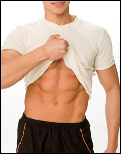 Think you can get your six pack in a week?  It's not that easy, but with hard work you can get there.
