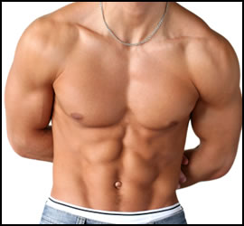How to get your own HOT six pack stomach!