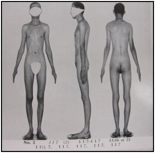 A somatotype photospread of a 1 1 7, from Atlas of Men.