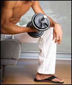 Tips for getting the most out of your strength training at home!