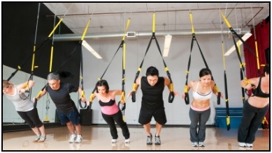 TRX fitness classes are becoming very popular. You can probably find one at your local gym!