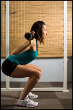 Use this weight training program for women to get strong!