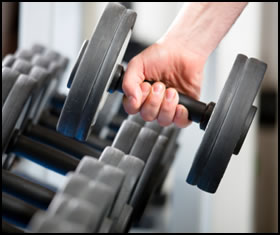 How to do weight training with dumbells right!