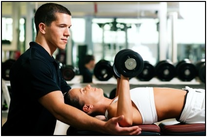 What is a personal trainer? Someone who helps others achieve their strength and fitness goals.