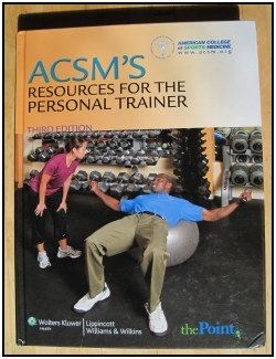 ACSMs Resources for the Personal Trainer.