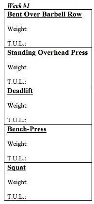 weight free work out