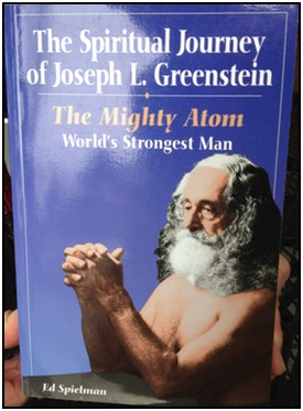 The cover of The Spiritual Journey of Joseph L. Greenstein, showing Greenstein towards the end of his life.