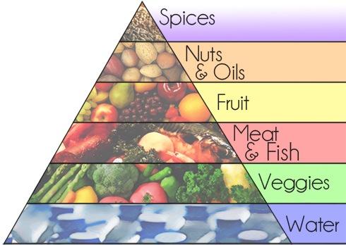 The Paleo Food Pyramid!