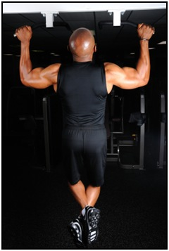 A pull up workout will do wonders to develop your upper body.