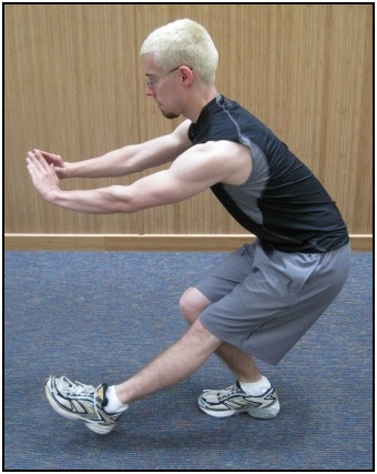 How to do single leg squats, photo 2.