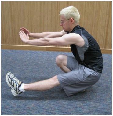 How to do single leg squats, photo 3.