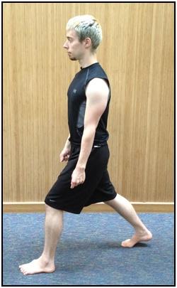 Split squats, top.