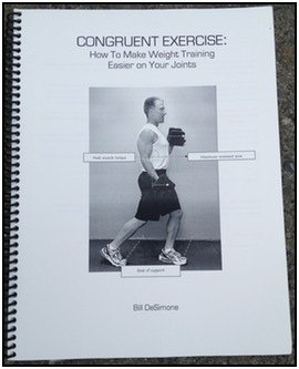 Bill DeSimone's new book on weight training and joint pain, Congruent Exercise
